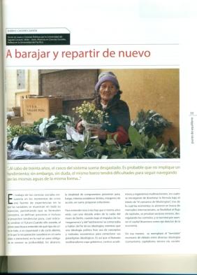 Artículo de Rubén E. Cáceres
