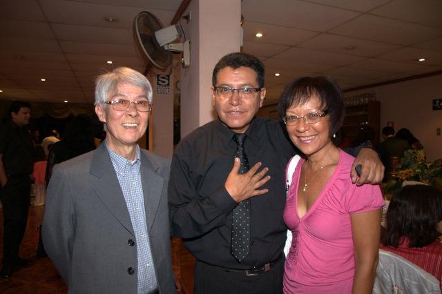 Pedro Seiji Asato, Wilfredo Tarazona, Lydia Hung
