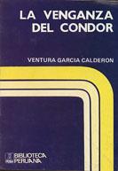 """Carátula del libro """"La Venganza del Cóndor"""""""
