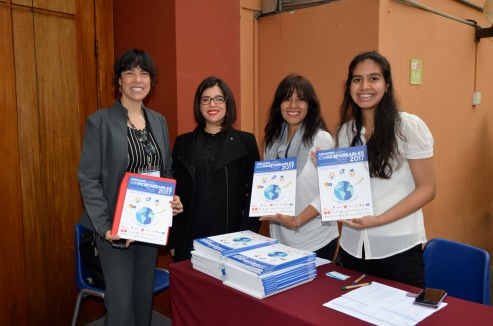 Lourdes Chuquipiondo (PlaceOKStudio), Anais Urbano (Corresponsables), Gladys Calderón (PlaceOKStudio), Deysi Bazalar (UARM).