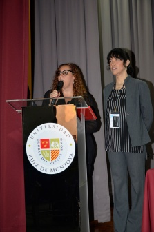 Rocío Lombardi (UARM) y Lourdes Chuquipiondo (PlaceOKStudio)
